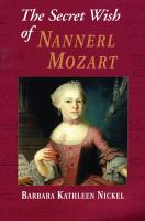 The Secret Wish of Nannerl Mozart (Orca Currents (Quality))