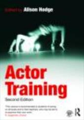 Actor Training - Hodge, Alison